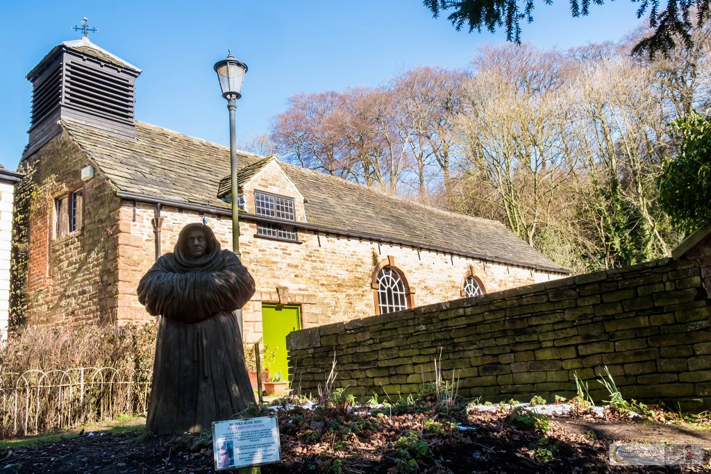 The Monks Rose Garden at Chadkirk Chapel on the Goyt Way in the Peak Forest, Cheshire in England on Mallory on Travel adventure travel, photography, travel Iain_Mallory_ChadkirkChapel-2746