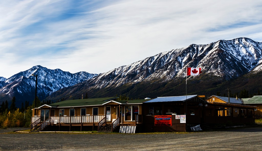 A visitor centre on the Alaska Highway outside Haines Junction in the Canadian province of the Yukon on Mallory on Travel adventure travel, photography, travel Iain_Mallory_Yukon1412537