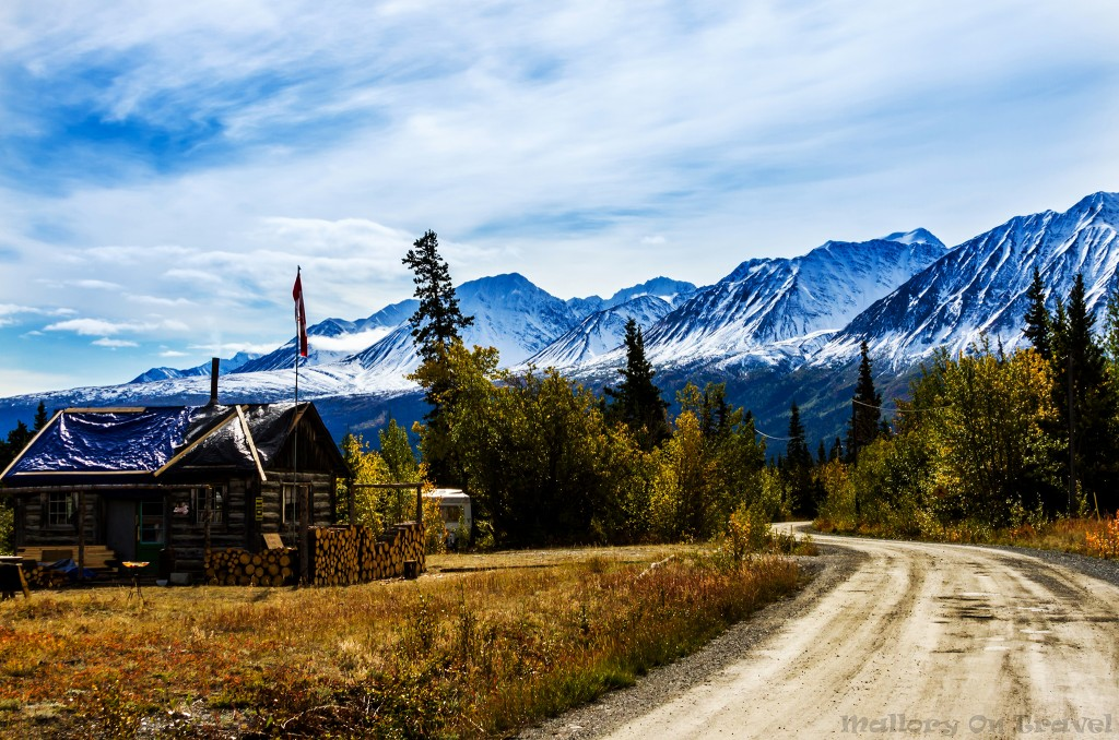A remote residence off the Alaska Highway in the Yukon wilderness, Canada on Mallory on Travel adventure travel, photography, travel Iain_Mallory_Yukon1412601