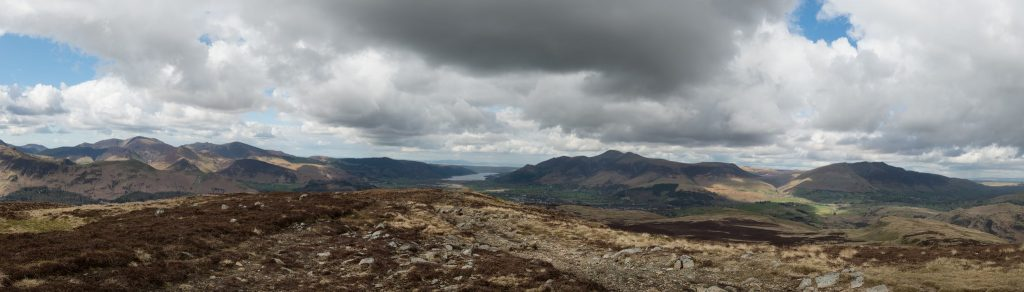 Lakeland panorama from Bleaberry Fell in Borrowdale in the Lake District, Cumbria on Mallory on Travel adventure travel, photography, travel Lakeland_1