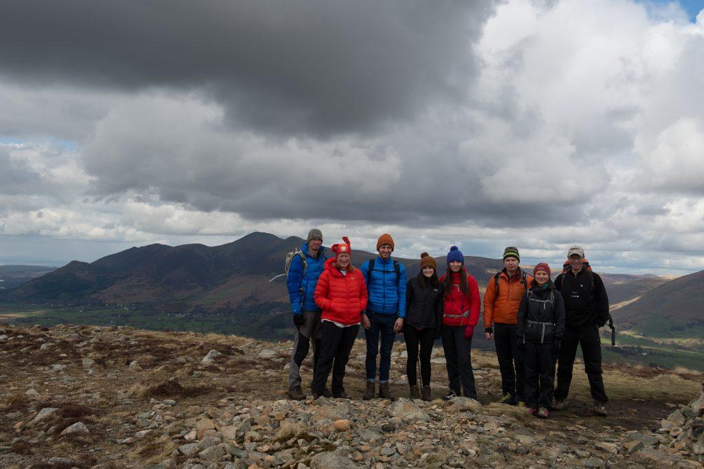 Lakeland walkers on Bleaberry Fell in Borrowdale in the Lake District on Mallory on Travel adventure travel, photography, travel Lakeland-11