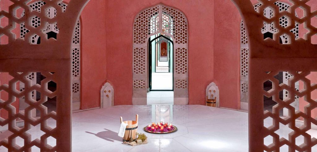 The spa at the Sahara Palace Hotel, a Park managed hotel in the Palmeraie region of Marrakech, Morocco on Mallory on Travel adventure travel, photography, travel img10