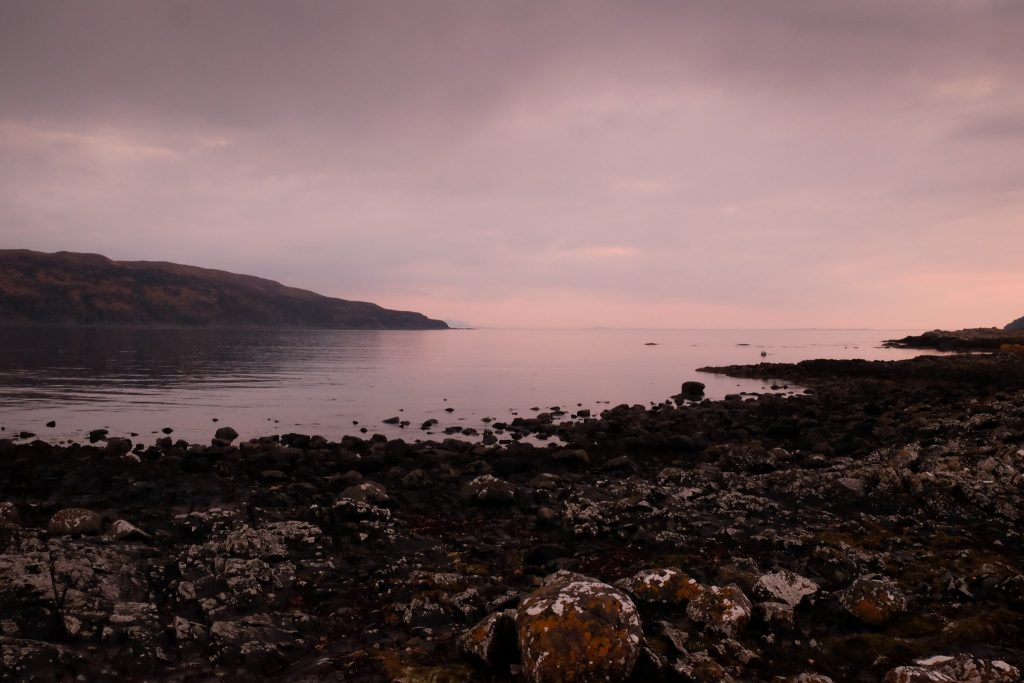 Sunset in Lochbuie on the Isle of Skye in the Highlands and islands of Scotland on Mallory on Travel adventure travel, photography, travel Iain Mallory_Mull3576