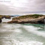 Postcards from Beach of the Cathedrals, Galicia