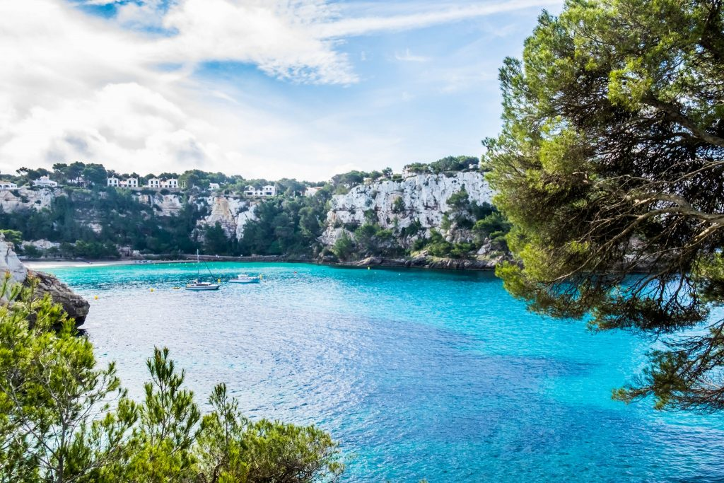 A small, rocky cove on the Balearic island of Menorca, Spain on Mallory on Travel adventure travel, photography, travel Iain_Mallory_Menorca-3319