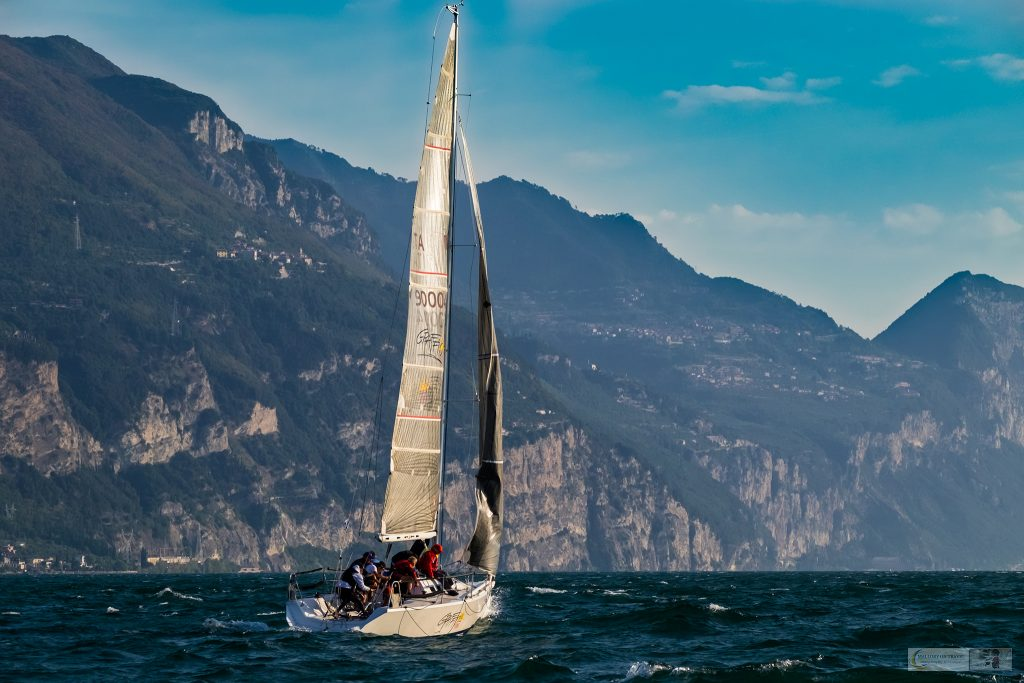 A yacht on Lake Garda in the Gardone Riviera region of Lombardia in Italy on Mallory on Travel adventure travel, photography, travel iain-mallory_garda-1-28