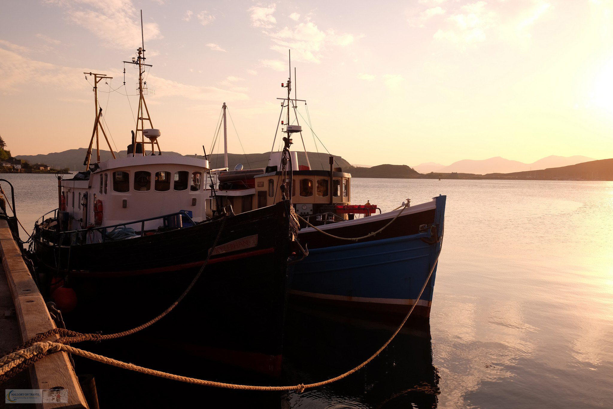 The fishing port of Oban, in Argyll, the gateway to the Highlands and Islands of Scotland on Mallory on Travel adventure travel, photography, travel Iain Mallory_Scotland3435