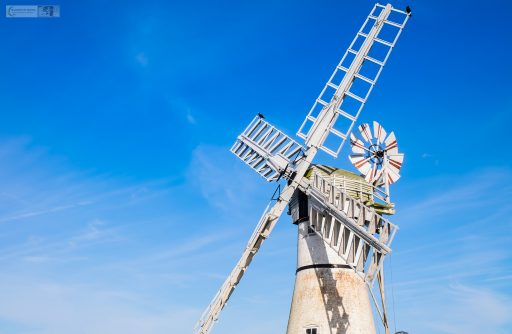 Sails of a Thurne windmill in the Norfolk Broads of East Anglia, a national park of England and the United Kingdom on Mallory on Travel adventure travel, photography, travel iain-mallory_norfolk-025