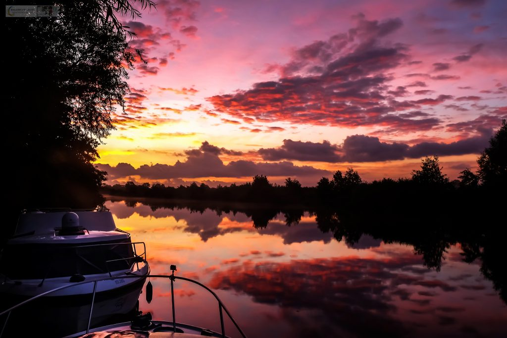 A glorious sunrise in the Norfolk Broads National Park of East Anglia, in England, the United Kingdom on Mallory on Travel adventure travel, photography, travel iain-mallory_norfolk-085
