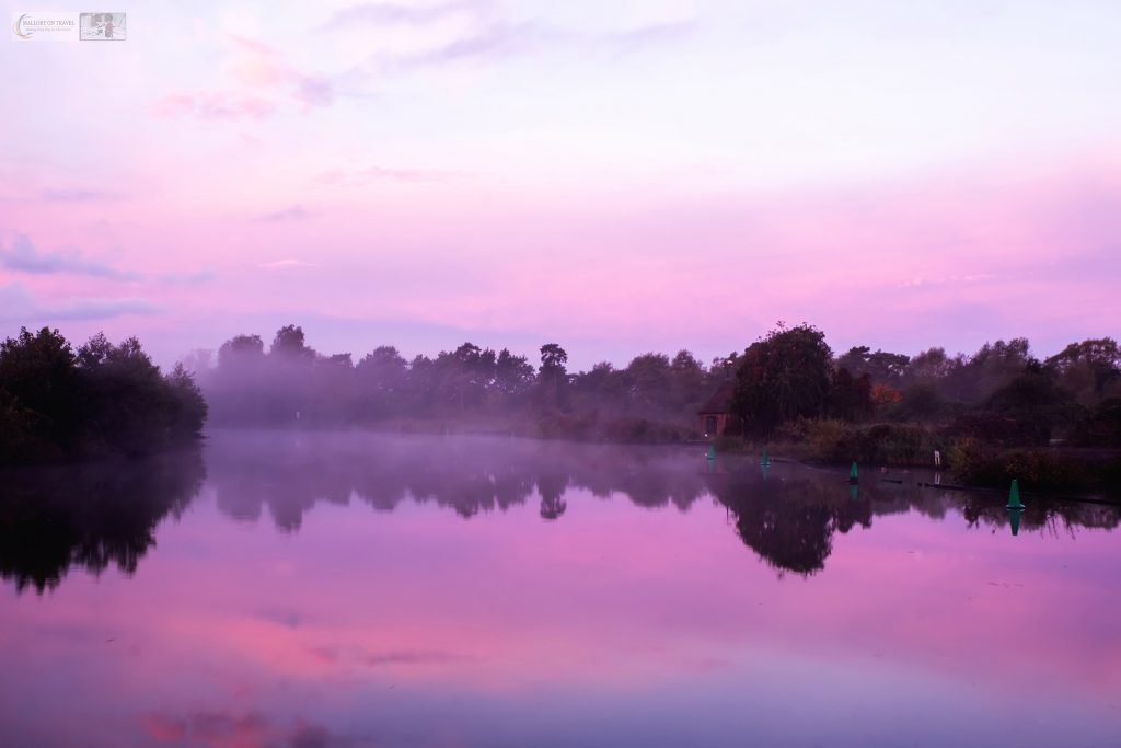Misty morning on the Norfolk Broads, a national park in East Anglia, England on Mallory on Travel adventure travel, photography, travel iain-mallory_norfolk-088