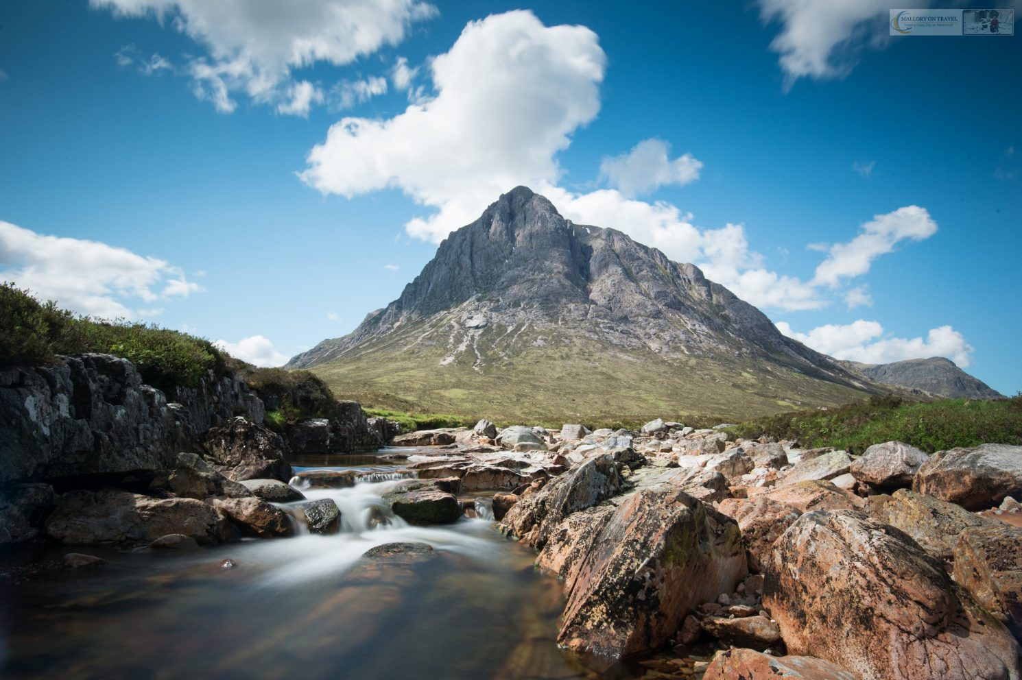 The Buichaille Etive Mor, great herdsman of Etive at the entrance to Glencoe in the highlands and islands of Scotland on Mallory on Travel adventure travel, photography, travel iain-mallory_scotland0116