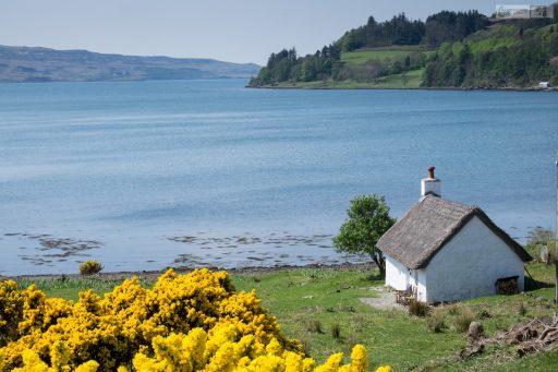 Fisherman's cotage on the Isle of Mull, in the Inner Hebrides, the highlands and islands of Scotland on Mallory on Travel adventure travel, photography, travel iain-mallory_scotland3462