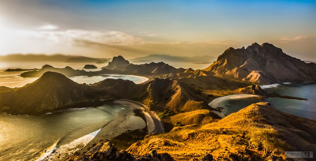 Wanderlust; Sunset on Padar Island in Komodo Islands National Park, Republic of Indonesia on Mallory on Travel adventure travel, photography, travel iain_mallory_indo148302