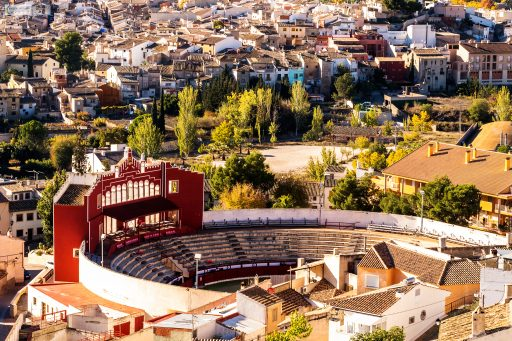 The bullring at Caravaca de la Cruz in Murcia, Costa Cálida in Spain on Mallory on Travel adventure travel, photography, travel Iain Mallory_Murcia 001-169