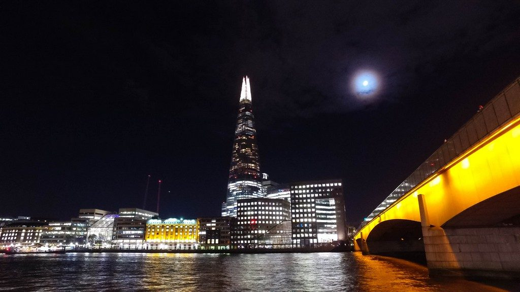 View of The Shard and London Bridge, attractions close to the London Bridge Hotel from the River Thames in London on Mallory on Travel adventure travel, photography, travel DCIM100MEDIADJI_0353.JPG