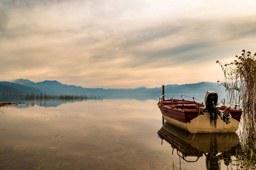 Travel inspiration for gloomy days; Lake Trichonida, near Agrinio in western Greece on Mallory on Travel adventure travel, photography, travel Iain Mallory_Greece1076-90