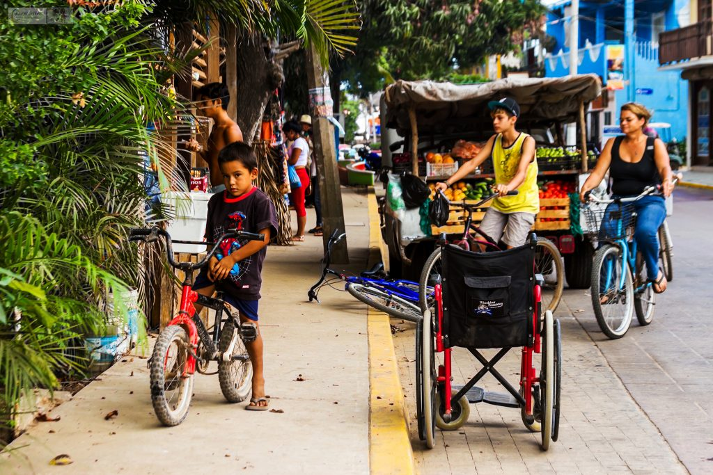 People on the streets of San Pancho, the San Francisco of Riviera Nayarit, on Mexico's Pacific coast on Mallory on Travel adventure travel, photography, travel Iain Mallory_Mex 001-19