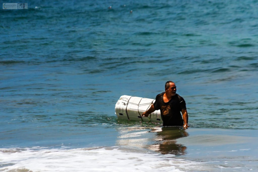A delivery in San Pancho, the San Francisco of the Riviera Nayarit, near Puerto Vallarta, on the Pacific coast of Mexico on Mallory on Travel adventure travel, photography, travel Iain Mallory_Mex 001-43
