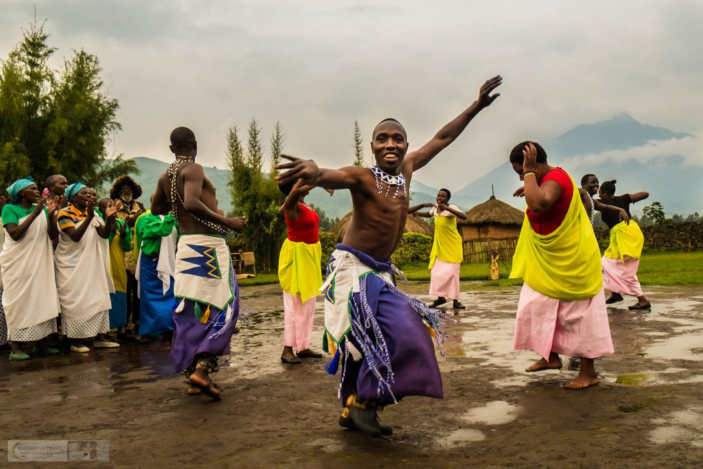 Favourite photos; Dancers at the Iby'Iwacu Cultural Village near Volcanoes National Park (Parc National des Volcans) in Rwanda on the Kenyan/Democratic Republic of Congo Border on Mallory on Travel adventure travel, photography, travel Iain_Mallory_Rwanda-2148