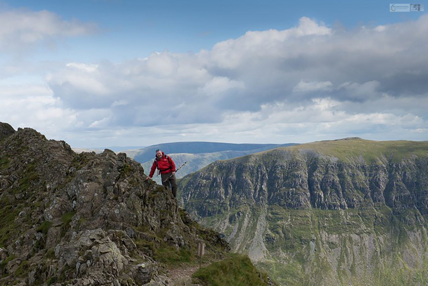 Adventure in the English Lakes, trekking and scrambling on Striding Edge on Helvellyn in Cumbria, Lakeland in the United Kingdom on Mallory on Travel adventure travel, photography, travel Lakes 2014-3