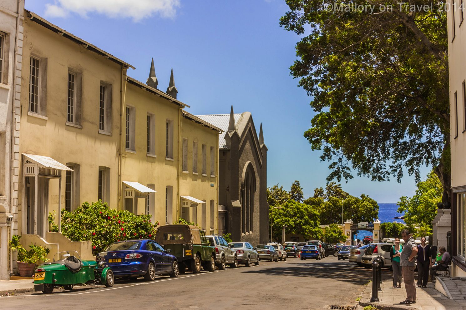 Main Street, Jamestown, St Helena capital city of the British Overseas Territory in the south Atlantic on Mallory on Travel adventure travel, photography, travel Iain Mallory-300-11 Jamestown