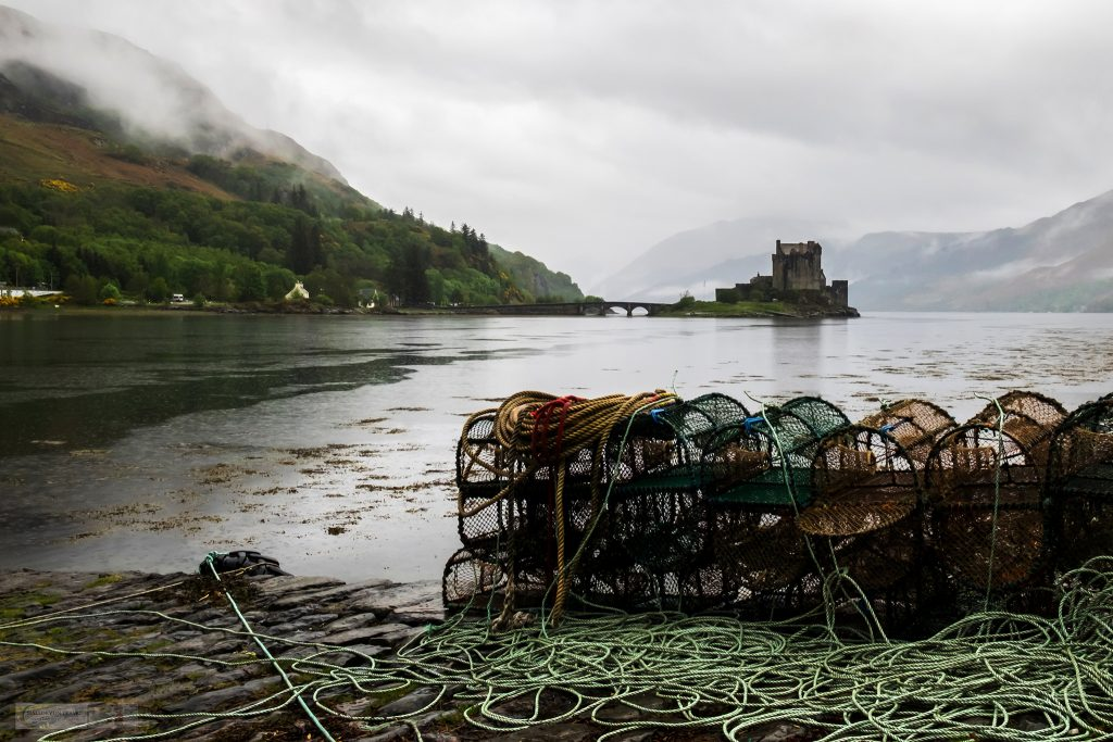 Highland road trip highlights; Eilean Donan castle on Loch Duich, near Dornie in the highlands and islands of west Scotland on Mallory on Travel adventure travel, photography, travel Iain Mallory_Scotland 001-13