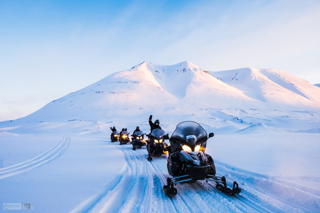 Snowmobiling to Colesbukta on the way to the Svea mining community on Spitzbergen, largest island of Svalbard archipelago, Norway on Mallory on Travel adventure travel, photography, travel Iain Mallory_Svalbard-1-15