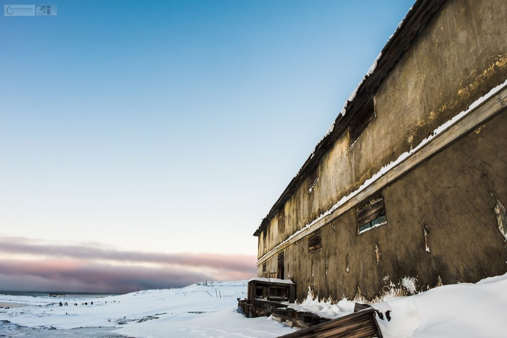 A derelict storage building in Colesbukta a Russian ghost town inside the Arctic Circle, Svalbard in Norway on Mallory on Travel adventure travel, photography, travel Iain Mallory_Svalbard-1-63