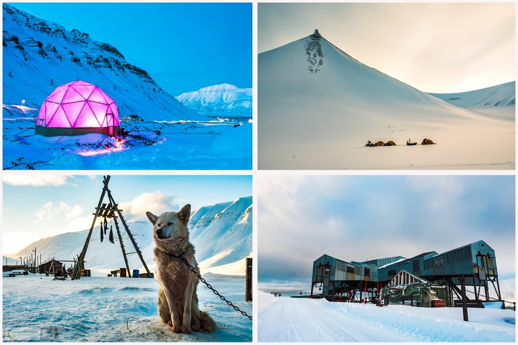 Around Longyearbyen on the Svalbard archipelago in Arctic Norway on Mallory on Travel adventure travel, photography, travel Iain Mallory_Svalbard Montage-3
