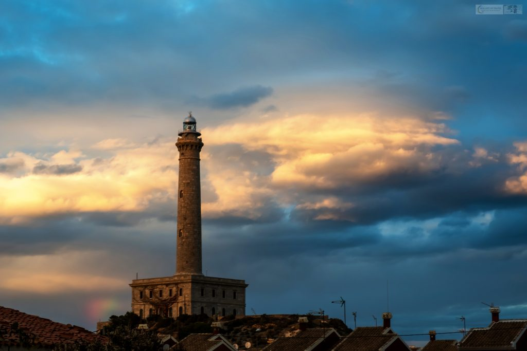Lighthouses of the World, the beacon at Cabo De Palos, Murcia in Spain on Mallory on Travel adventure travel, photography, travel Iain Mallory_Murcia-1