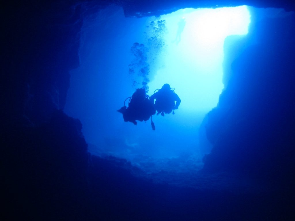Diving Malta; The Comino Caves off Gozo, Malta an island of shipwrecks and underwater caves in the Mediterranean Sea on Mallory on Travel adventure travel, photography, travel