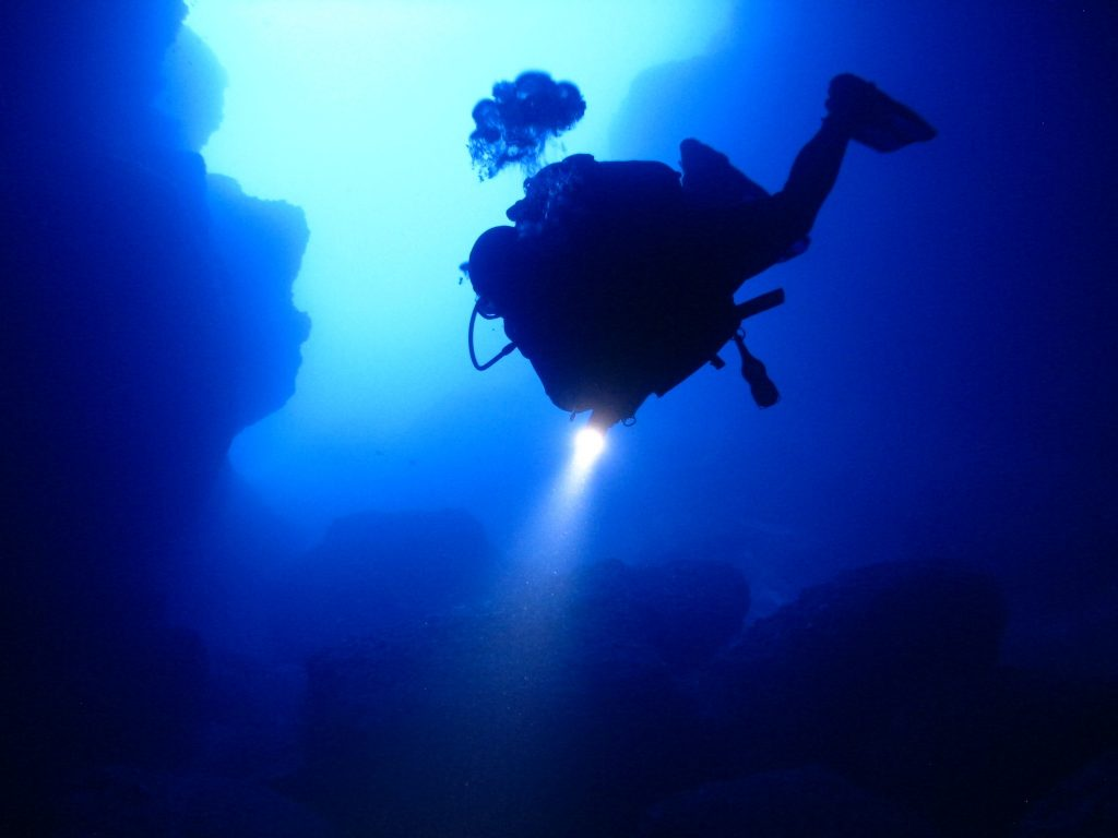 Diving Malta: Exploring the Comino Caves off the Mediterranean island of Gozo, Malta on Mallory on Travel adventure travel, photography, travel