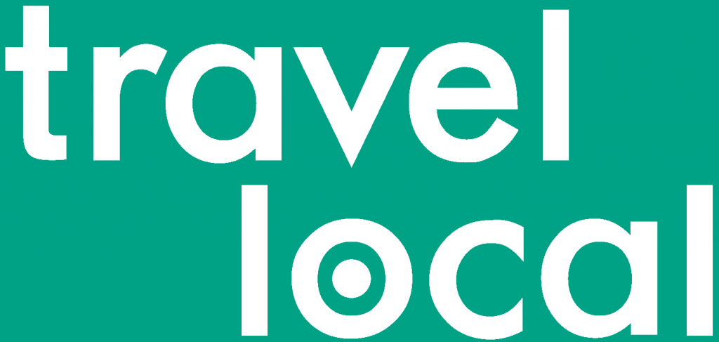 TravelLocal logo, African wildlife at Kidepo National Park in Uganda