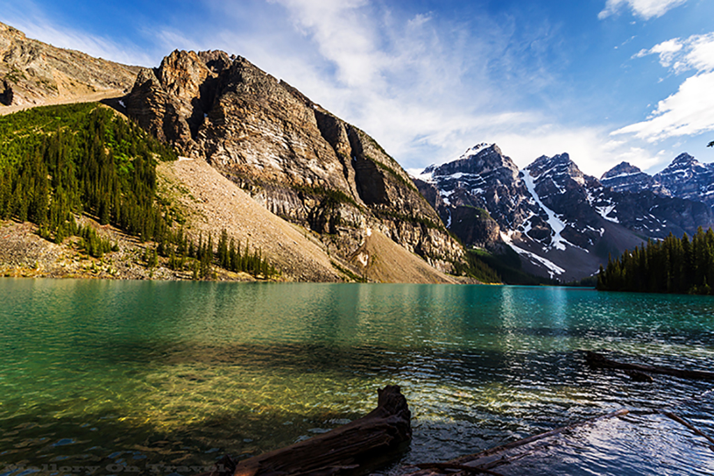Best of Canada; Moraine Lake near Banff, Alberta in the Canadian Rockies on Mallory on Travel adventure travel, photography, travel Iain Mallory-240