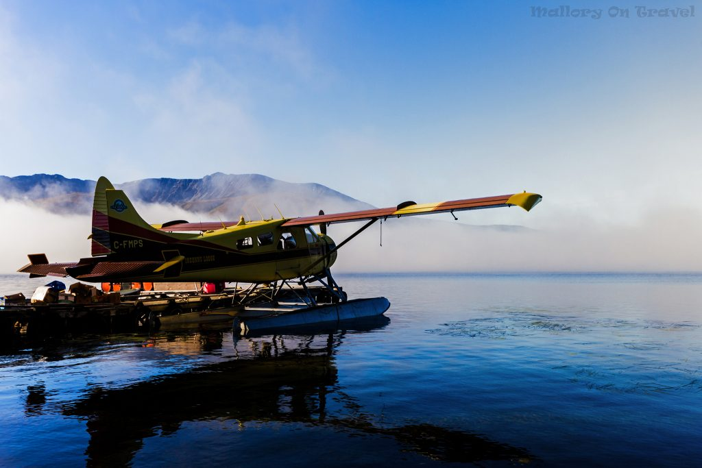 Best of Canada; A Beaver float plane on Lake McEvoy at Inconnu Lodge in the north-west territories of The Yukon on Mallory on Travel adventure travel, photography, travel Iain Mallory-Yukon_2004