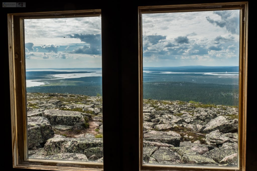 A view from the hut on Sodankyä in the Inari region of Finnish Lapland, land of the nightless nights inside the Arctic Circle on Mallory on Travel adventure travel, photography, travel Iain Mallory_Finland-1-9