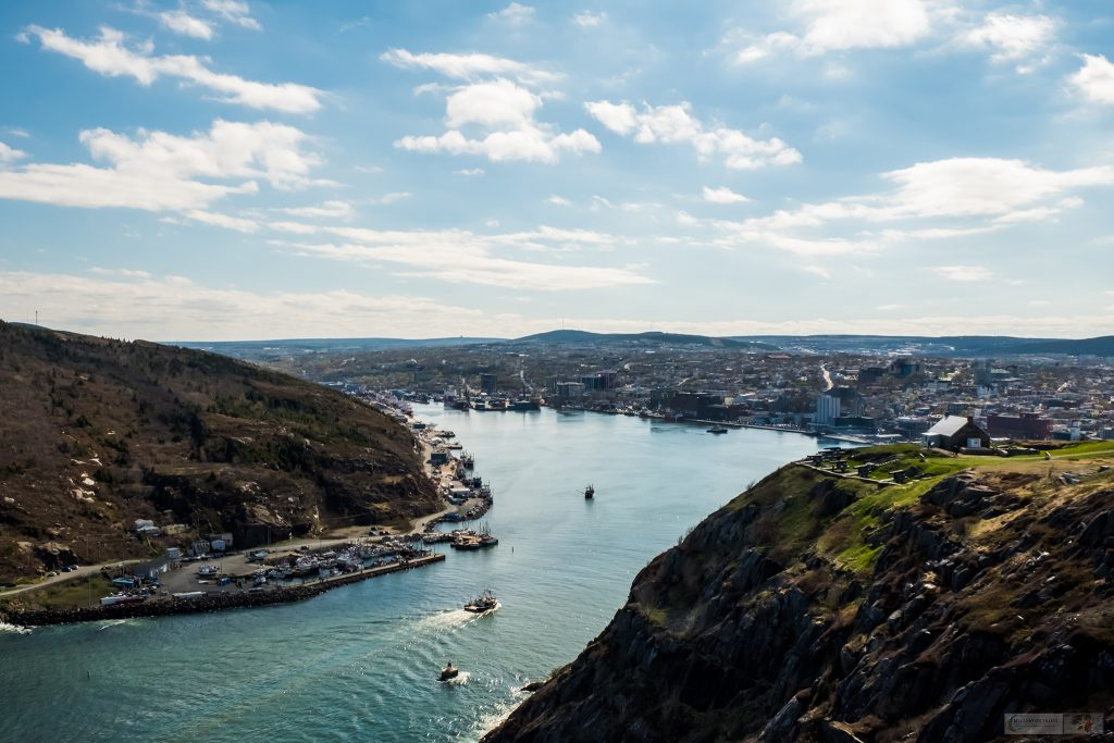 The view of St John's and harbour from Signal Hill above the capital of Newfoundland and Labrador, Canada on Mallory on Travel adventure travel, photography, travel Iain Mallory_newfoundland-1-65