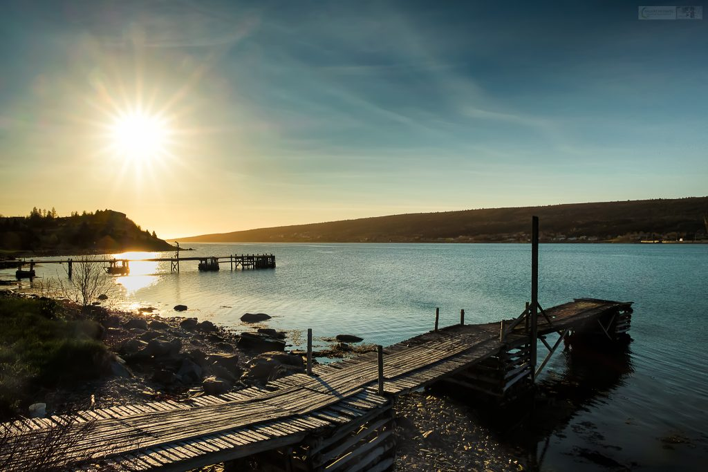 The jetties of Harbour Grace at sunrise, on the Baccalieu Route of the Avalon Peninsula, Newfoundland in Canada on Mallory on Travel adventure travel, photography, travel Iain Mallory_stjohns-10