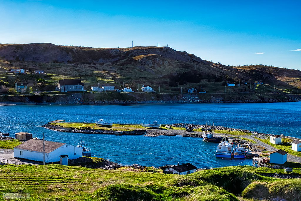 The harbour at Ferryland on the south Avalon Peninsula of Newfoundland and Labrador in Canada on Mallory on Travel adventure travel, photography, travel Iain Mallory_stjohns-19