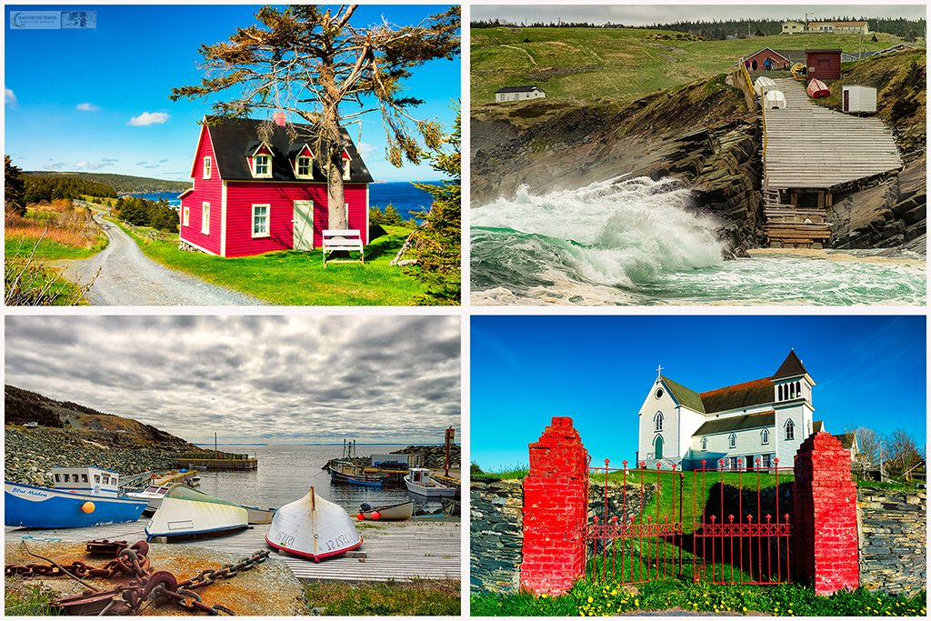 The towns and fishing harbours of the Avalon Peninsula in Newfoundland, Canada on Mallory on Travel adventure travel, photography, travel Newfoundland montage