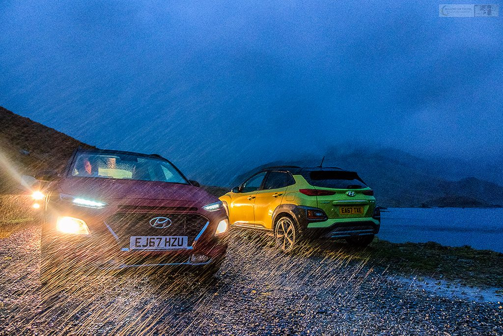 Hyundai Kona Premium SE in the rain on the Miner's Track on Mount Snowdon, in the Snowdonia National Park, North Wales on Mallory on Travel adventure travel, photography, travel Iain Mallory_Hyundai 008