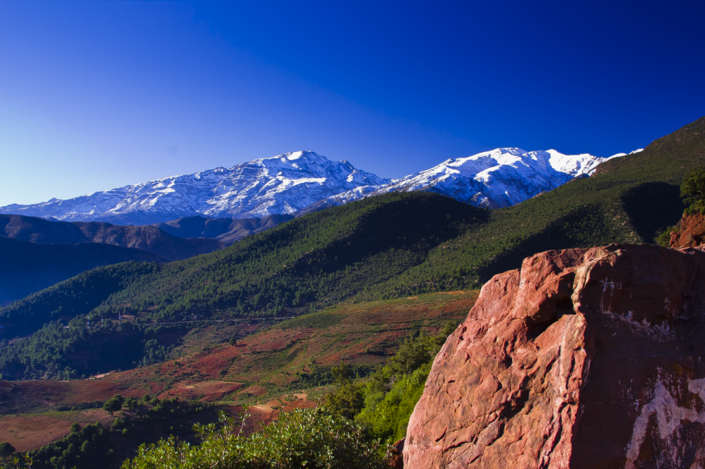 The high Atlas mountains of Morocco on Mallory on Travel, adventure, photography