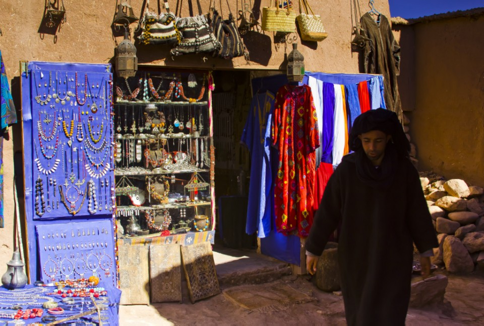 Haggling in the kasbah near Quazarate, Morocco Copyright © by Mallory On Travel 2011 adventure, photography