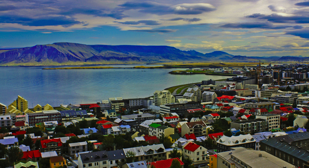 Iceland's Reykjavik and Mount Esja on Mallory On Travel adventure, photography