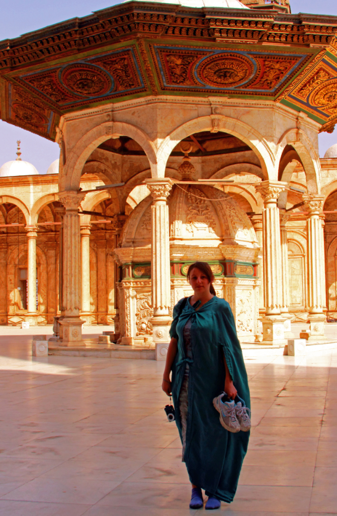 Mohamed Ali Mosque, Cairo, Egypt on Mallory On Travel adventure, photography
