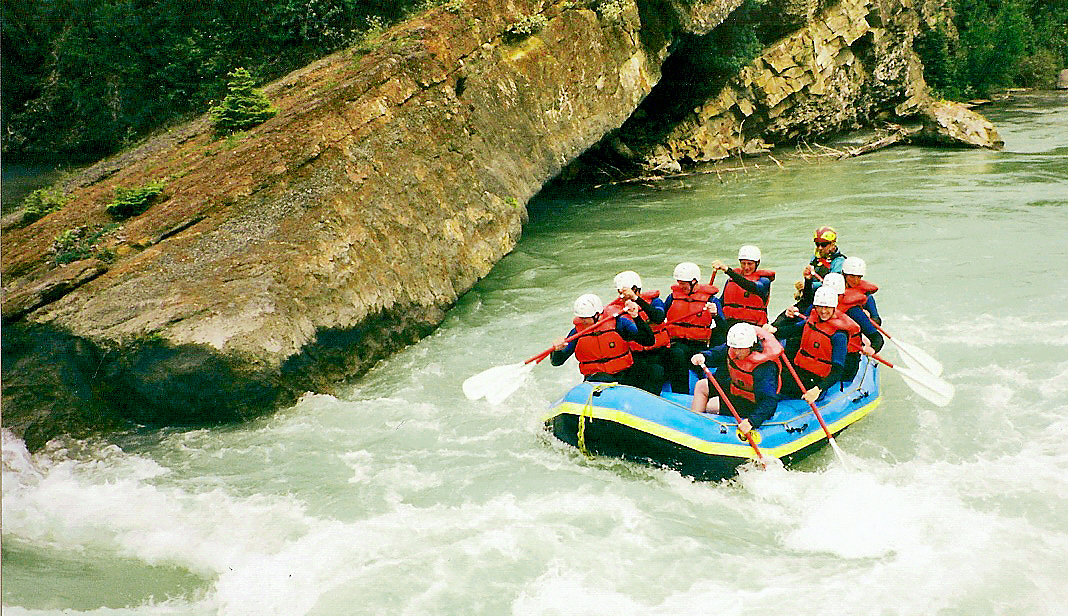Adventure Rafting in Kananaskis, Alberta, Canada on Mallory On Travel