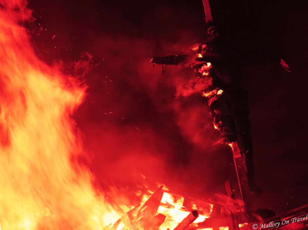 Bonfire and Guy Fawkes Night a quintessential British festival on Mallory on Travel adventure, photography