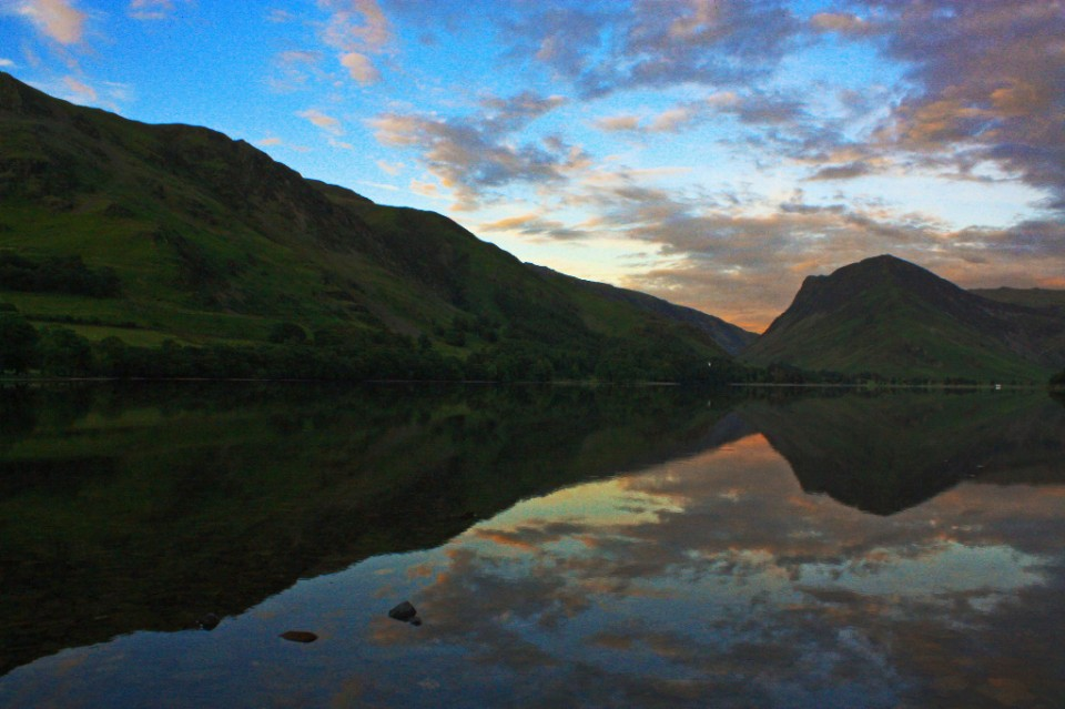Lovely lake Buttermere in the English Lake District, Great Britain on Mallory on Travel, adventure, photography