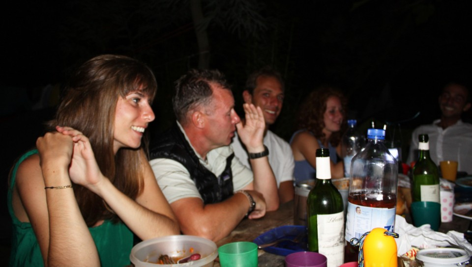 Solo travel can be be away of making friends, enjoying a drink in Calvi, Corsica, France on Mallory on Travel, adventure, photography