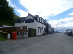 The Applecross Inn restaurant in Wester Ross in Scotland  on Mallory on Travel, adventure, photography